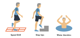 v cardio and low impact exercises for seniors