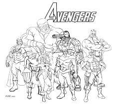 Personaggi Marvel Da Colorare Fredrotgans