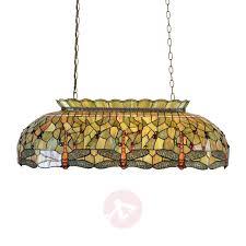 green pendant light fania in the tiffany style 6064243 01
