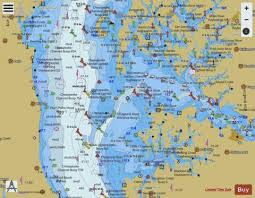 Chesapeake Bay Choptank River And Herring Bay Marine Chart