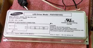 led driver model psdv500105u input 100 277v dc 50 60hz 70w output led driver model psdv500105u input 100 277v dc 50 60hz 70w output 30 45 3v 1200ma television circuit board boards tv from tvpart 31 16 dhgate com