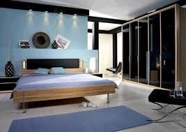 Modern Bedroom Blue
