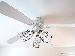 image of diy ceiling fan light covers