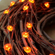 Battery Operated Halloween Mini Lights Led Micro Pumpkin Battery Operated String Lights