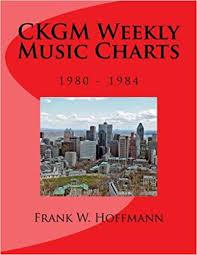 Ckgm Weekly Music Charts 1980 1984 Frank W Hoffmann