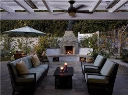 fireplace patio wheat landscape
