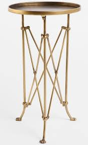 tall side table for frugal find brass round idea 19