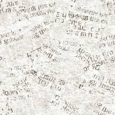 Newsprint Texture Background Newspaper Old Grunge Collage Seamless Pattern Unreadable Vintage