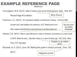 Apa Format Reference Template Selo Yogawithjo Co With Reference
