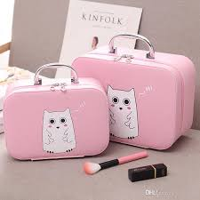 south korean cosmetic case large and cute professional portable travel waterproof large capacity carry a makeup bag cosmetic case large female bag tote