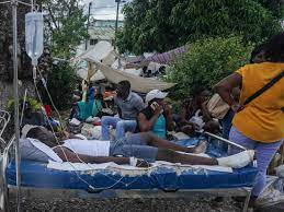 Drenching Earthquake-Stricken Haiti : NPR