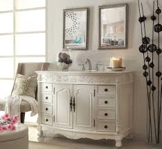 Awesome White Antique Vanity Bathroom And make Up Ideas | Home ...