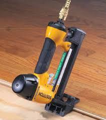 engineered wood flooring nail gun