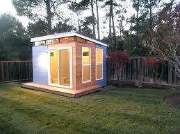 outdoor garden office.  Garden Outdoor Office Shed Made Garden Fab  Slopped Roof Clerestory Windows   To Outdoor Garden Office E