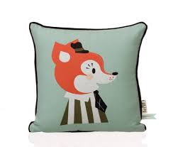 mr frank fox kids pillow  lappartement concept store