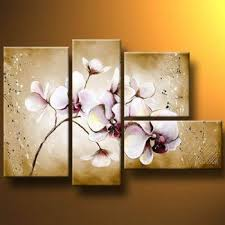 subtle orchid modern canvas art wall decor floral oil painting wall art with stretched on orchids wall art with subtle orchid modern canvas art wall decor floral oil painting wall