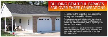 evansville garage doorsHobgood Contractors  Evansville Garage Builders Home Additions