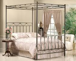 King Canopy Bed Frame Metal King Canopy Bed Frame California King ...