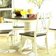 table white legs wooden top dining wood and kitchen sets to