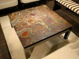 11 best stone coffee tables images on table throughout ideas 14