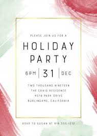 Company Christmas Party Invites Templates Holiday Party Invitation Templates Company And Office Party Invites