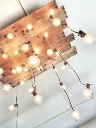 reclaimed wood chandelier handmade pallet simple uk