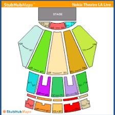 Microsoft Theater Concert Seating Chart Bedowntowndaytona Com