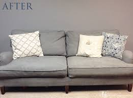 painting fabric furnitureHow to Paint a Couch and DIY Chalk Paint