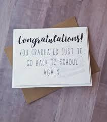 Congratulations Graduation Card High School Graduation Funny Graduation Congrats Grad Funny Card Handmade Greeting Cards