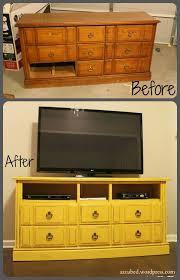 refurbishing furniture ideas. Turn An Old Dresser Into A Fabulous TV Console Refurbishing Furniture Ideas U