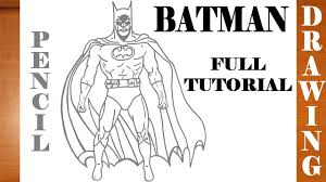 full color drawing pics 6 1280x720 how to draw batman step by step easy for kids on paper full body