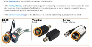 use of video balun and cat5 cable for cctv cameras technology news security camera wire diagram at Cctv Camera Wiring Diagram