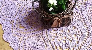 handmade crochet rugs cushions and table covers