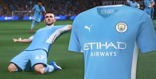 Maybe you would like to learn more about one of these? Manchester City 21 22 Home Kit Leaked Confirmed By Fifa 22 Trailer