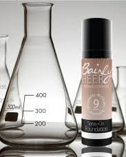 Bairly Sheer Color Chart Body Coverage