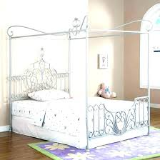 Canopy Bed White Full Size Of Bedroom White Canopy Bed Frame Queen ...