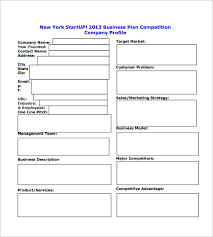 Operation Plan Outline 6 Free Simple Business Plan Template Every Last Template Free