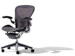Desk Chairs  Aeron Office Chair Manual Miller Stock Herman Size C Aeron Office Chair Used