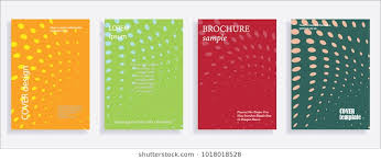 minimalistic cover design templates set of layouts for covers of books als notebooks