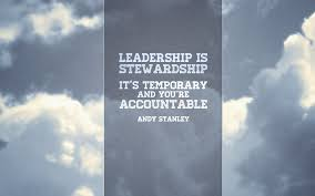 Stewardship Quotes quotes Joey Sparks 27