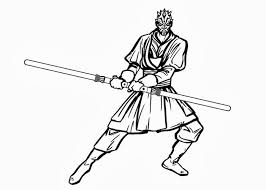 Small Picture Darth Maul Coloring Page Free Coloring Pages On Masivy World For