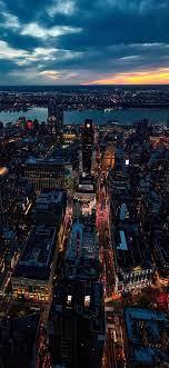 Sunset New York City Img Iphone X ...
