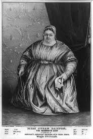Miss Susan Barton: the mammoth lady, as exhibited at Barnum's American  Museum, New York 1849, weight 576 pounds | Library of Congress