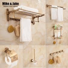 bathroom golden with diamond bathroom kit towel bar shelf holder paper ring and r96 towel