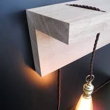 Eiken Plank Met Lamp Matelier Meubelmakerij Online Shop Design