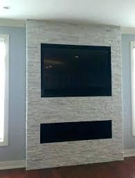 diy mount tv brick fireplace hang installing flat screen on wall hanging plaster
