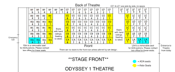 Seating Charts With More Info Odyssey Theatre Ensemble