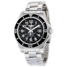 breitling superocean ii 42 automatic black dial stainless steel breitling superocean ii 42 automatic black dial stainless steel men s watch a17365c9 bd67ss