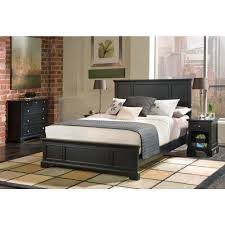 Home Styles Bedford 4 Piece Black Queen Bedroom Set 5531 5016 The