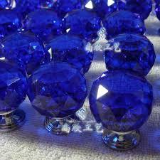 blue glass door knobs. Beautiful Blue Glass Cabinet Knobs On Crystal Door